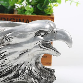 Simple Style Resin Eagle Head Design Desktop Wine Rack
