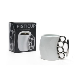New Arrival Unique Fist Rings Design Creative Coffee Mug