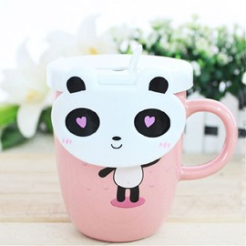 New Arrival Creative Cute Cartoon Panda Ceramic Mug