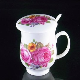 Wonderful Pretty Pink Peony Coffee Mug