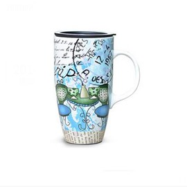 Wonderful European Painting Ceramic Creative Mug