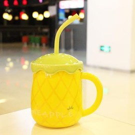 Top Quality Yellow Pineapple Creative Mug