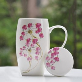Top Popular Elegant Campanula Flower Coffee Mug