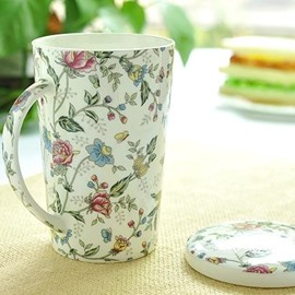 Wonderful European Style Bone China Coffee Mug