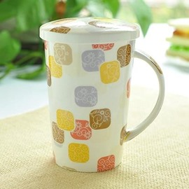 Elegant European Style Bone China Coffee Mug