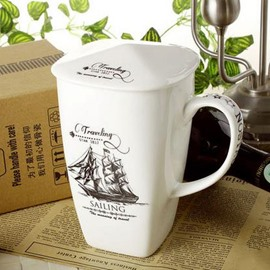 Fantastic the Age of Sail Bone China Coffee Mug