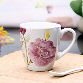 Gorgeous Floral Pattern Ceramic Coffee Mug