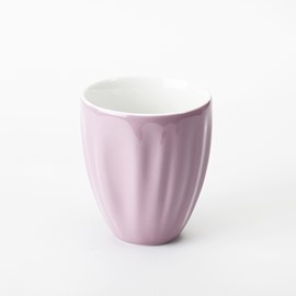 Creative Pink Stripe Over Flow Cup Milk cup