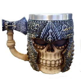 New Innovative Stainless Masked Rider Coffee and Mug Cup Halloween Gift