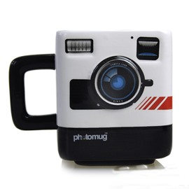 Creative and Elegant Style Photo Shape Square Birthday Gift Cups and Mugs