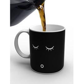 Magic Heat Sensitive Smile Changing Coffee Mugs