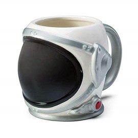 Creative Astronaut Helmet 3D Molded Ceramic Coffee Mug