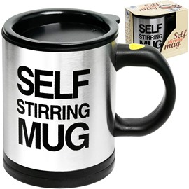 Automatic Self Mixing & Spinning Self Stirring Electric Stainless Steel Coffee Mug