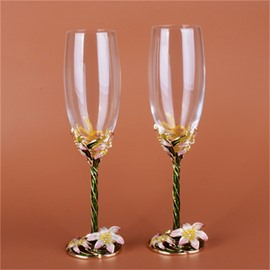 55 amazing and artistic crystal enamel materials home or party modern wine glasses