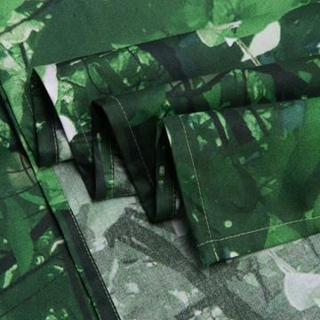 100%Cotton Reactive Printing Panda Tree Green 4 Piece Bedding Sets