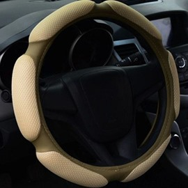 High Quality Solid Color Fashion Steering Wheel Cover