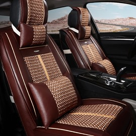Classic Design Breathable and Vogue Ice Silk Universal Car Seat Covers