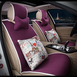 Concise Designed with Lovely Cushions Car Seat Cover Set