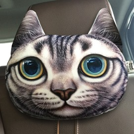 Funny Personalized American Shorthair Face Car Seat Pillows