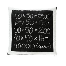 Fashionable Quillow Algebra Designed Cotton Blanket Car Pillow