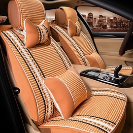 Cool Ice Silk Material Ventilate Designed Universal Fit Car Seat Cover