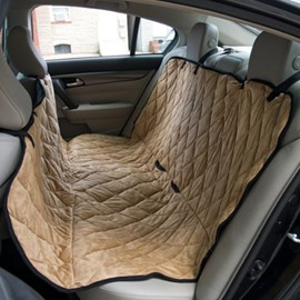 Suede And Environmeent Material Rear Pet Seat Mat