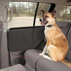 Black Pets Door Mat Protect Your Car When Your Pet Seat In Car Door Mat