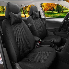 Refinement Design And Cool Ice Silk Material Universal Car Seat Cover