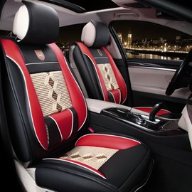 Super Fashional And Real Leather Material Car Seat Cover