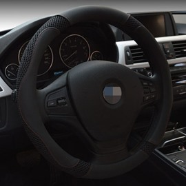 Classic Solid And Pretty Popular Leather Steering Wheel Cover