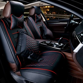Classic Business High-Grade Substantial Textured Universal Car Seat Cover