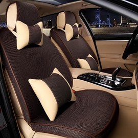 Charming Solid Design With Cool Pillow Dedicated Special Car Seat Cover
