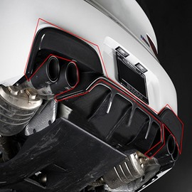 Domineering Special Car Models Style Carbon Fiber Rear Diffuser