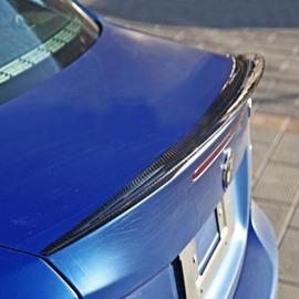 Sport Style 1-Series Special Carbon Fiber Trunk Lip Rear Spoiler