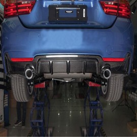 Sport Series Dedicated Carbon Fiber Rear Bumper Lip Diffuser