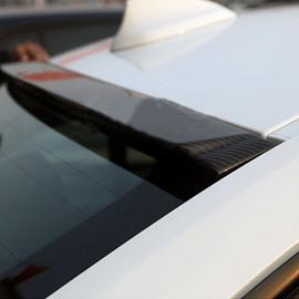 Domineering Wide Carbon Fiber Material Roof Spoiler
