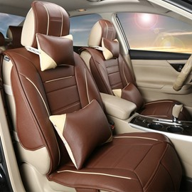High Cost-Effective And Leatherette Material Fashional Universal Five Car Seat Cover