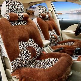 Leopard Sexy Three-Dimensional Vision Style Design Fashion Comfortable Universal Car Seat Cover