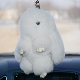 Cute And Lovely Wool Rabbit Creative Car Decor
