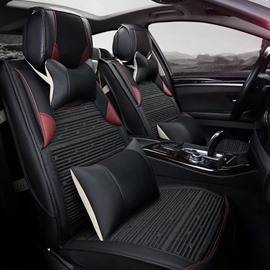 Side Highlights 3D Design Comfortable Mixing Material Durable Universal Car Seat Cover