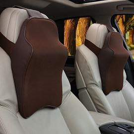 3D Full Coverage Cost-Effective Memory Foam Single Set Car Headrest