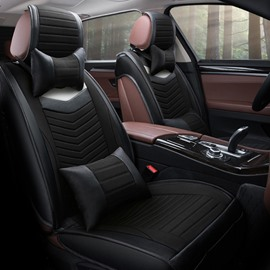 Textured And Durable Matching Interior Easy Clean Leather Universal Car Seat Cover