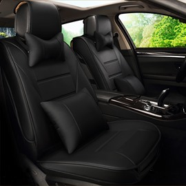 New Dressed Skins Craft Rubbing PU Leatherette Material Universal Five Car Seat Cover