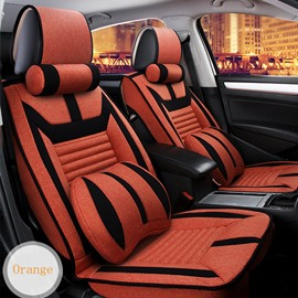 Fashion Colorful Style Stretch-Resistant High-Grade Universal Five Car Seat Cover