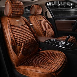 New Luxury Beautiful Color Design Business Blending Craft Universal Five Car Seat Cover