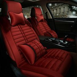 High-Grade Durable Comfortable Velvet Material Universal Five Car Seat Cover