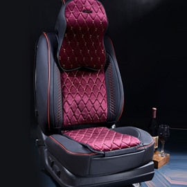Durable PU Leather With Luxury Material Attractive Universal Five Car Seat Cover