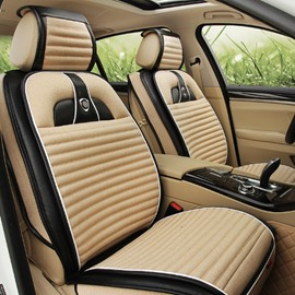 Blending Craft Rubbing Fashion Simple Design Durable Material Universal Five Car Seat Cover