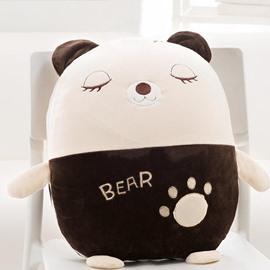 Cute Cartoon Bear Pattern Design Three Kinds Of Use Multi-Functional Car Pillow