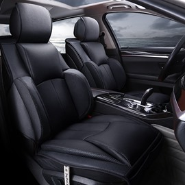 New 3D Fashion Design Sports And Business Style Combination Durable PU Leather Material Universal Car Seat Cover